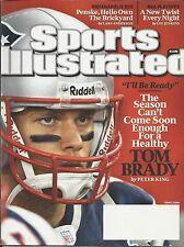 Sports Illustrated magazine Tom Brady Patriots Ricky Rubio Indianapolis 500