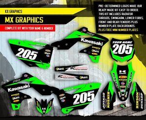 2013 2014 2015 kxf 450 graphics kit kawasaki kx450f motocross bike decals ebay