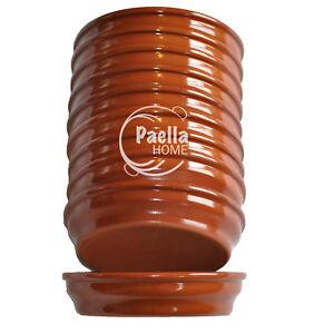 Lot-de-13-5-cm-terre-cuite-tapas-Plats-2-12-unites-espagnol-cazuelas-Cocotte