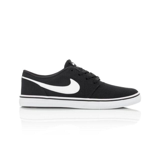 0ffda4cfc80b5 Nike SB Portmore II 2 Solar CNVS Canvs Men Black Shoes Skate ...