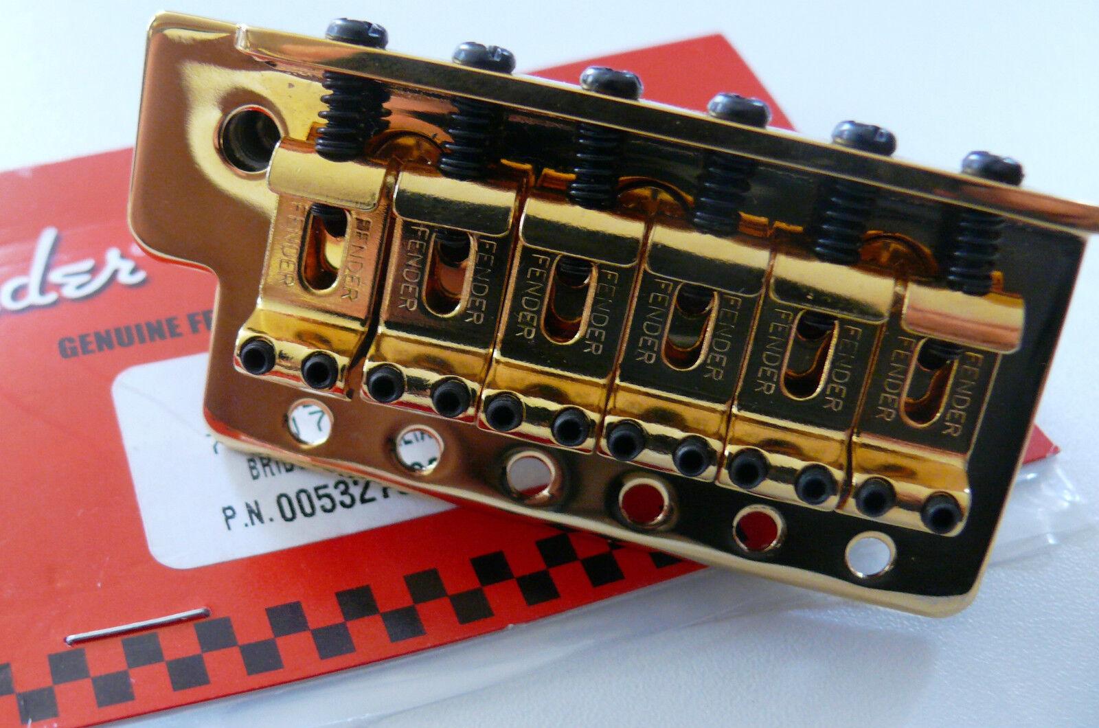 NEW Bridge FENDER STRATOCASTER 0059561000 MIM -Gold- pour guitare