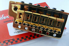 NEW Bridge FENDER STRATOCASTER 0059561000 MIM, Squier -gold- pour guitare