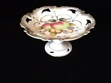 JAPAN SHAFFORD FINE BONE CHINA CANDY/FRUIT DISH COMPOTE HAND DECORATED