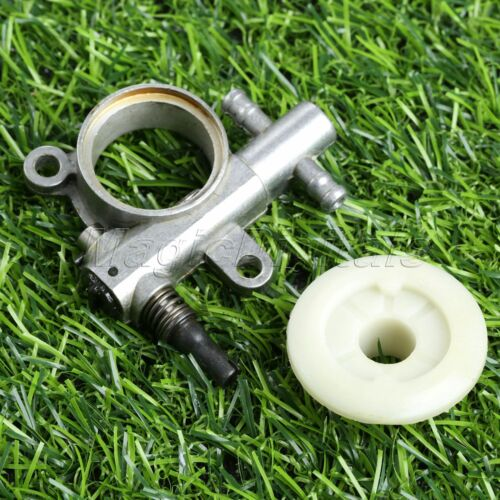 Garden Chainsaw Oil Pump Worm Drive Gear Power Tool For 2500//3800 Chainsaw Parts