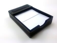 Nice Classic Black Memo Pad Holder 45 X 65 With Sheets Of Paper