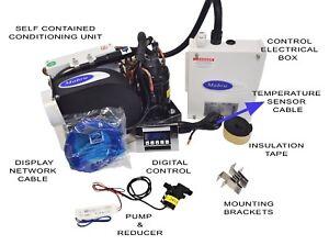 mps marine mini heat pump 115v water cooled air conditioner w pump rh ebay com Portable Air Conditioner Heat Pump Portable Air Conditioner Heat Pump
