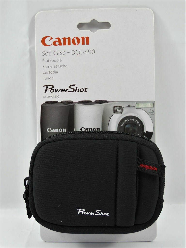 Cannon Soft Case DCC-490 for PowerShot A800-A1200 # Will fit other brands #