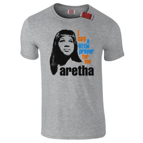 Aretha Franklin Say a Little Prayer Portrait Soul PREMIUM QUALITY T-Shirt