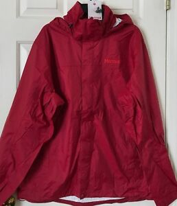 recognized brands high quality purchase cheap Details about $100 NWT Mens Marmot Precip Hooded Packable Waterproof Rain  Jacket 41200 4 Color