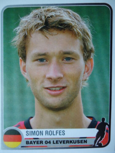 84 Simon Rolfes Bayer Leverkusen Champions of Europe 1955-2005