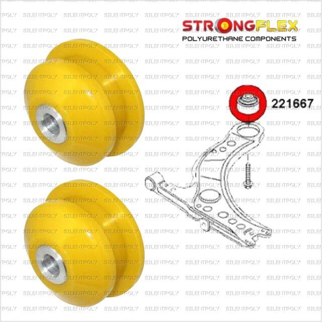 Audi A1, 2x Silentbloc triangle avant, position ar., OEM:1J0407181