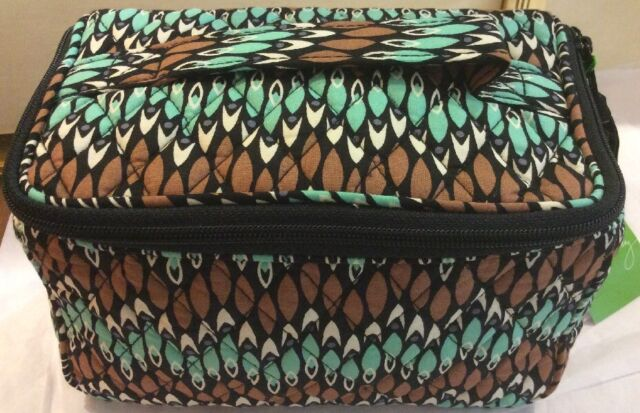Vera Bradley Sierra Stream Travel Cosmetic Bag Nwt Similar To Home And Away