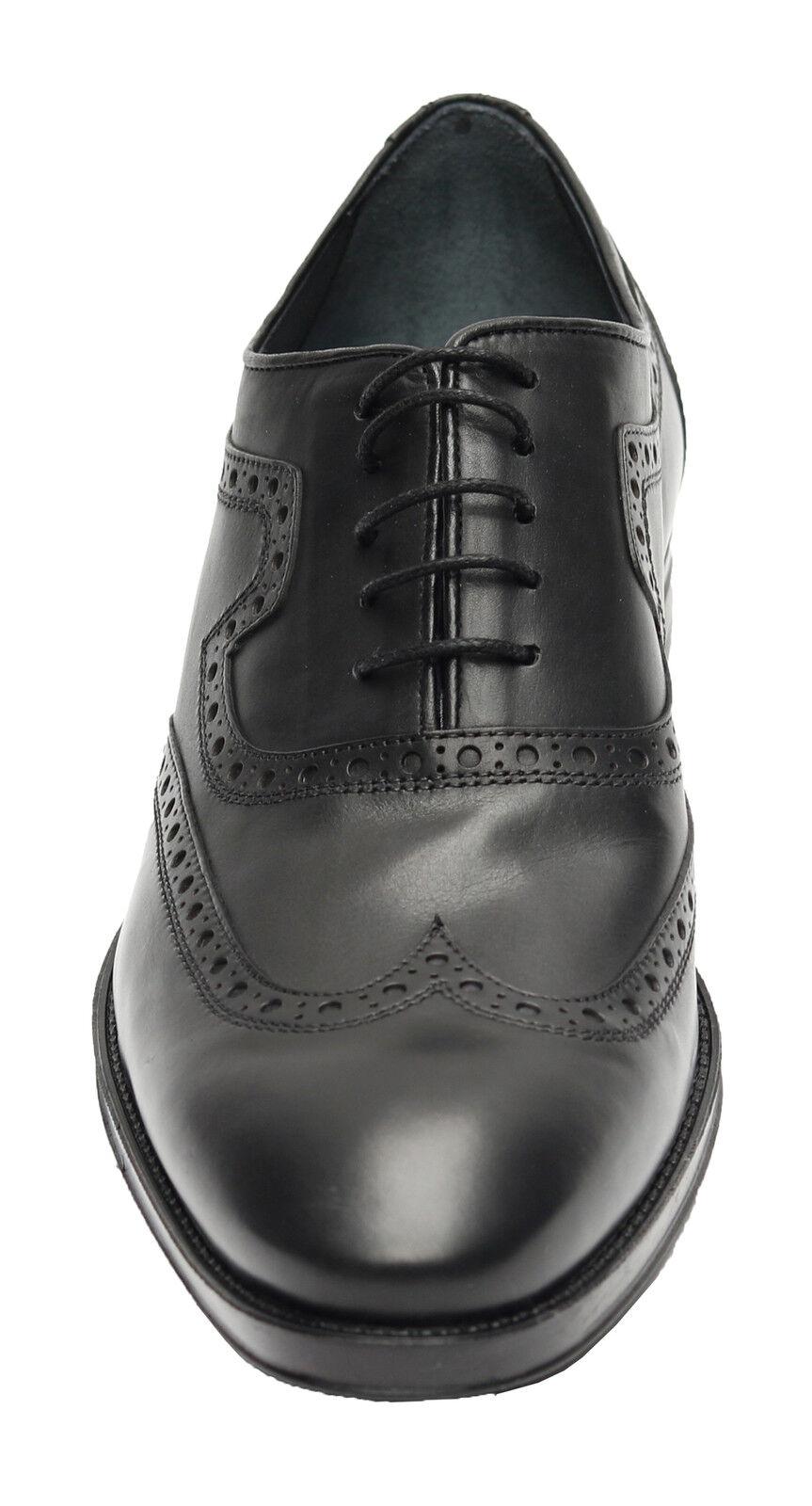 Muga Herren Schuhe Echtleder*850*Gr.46 Schwarz