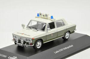 Details about Rare !! Lada Vaz 2103 Volkspolizei Police CCC050 1/43 ixo ist