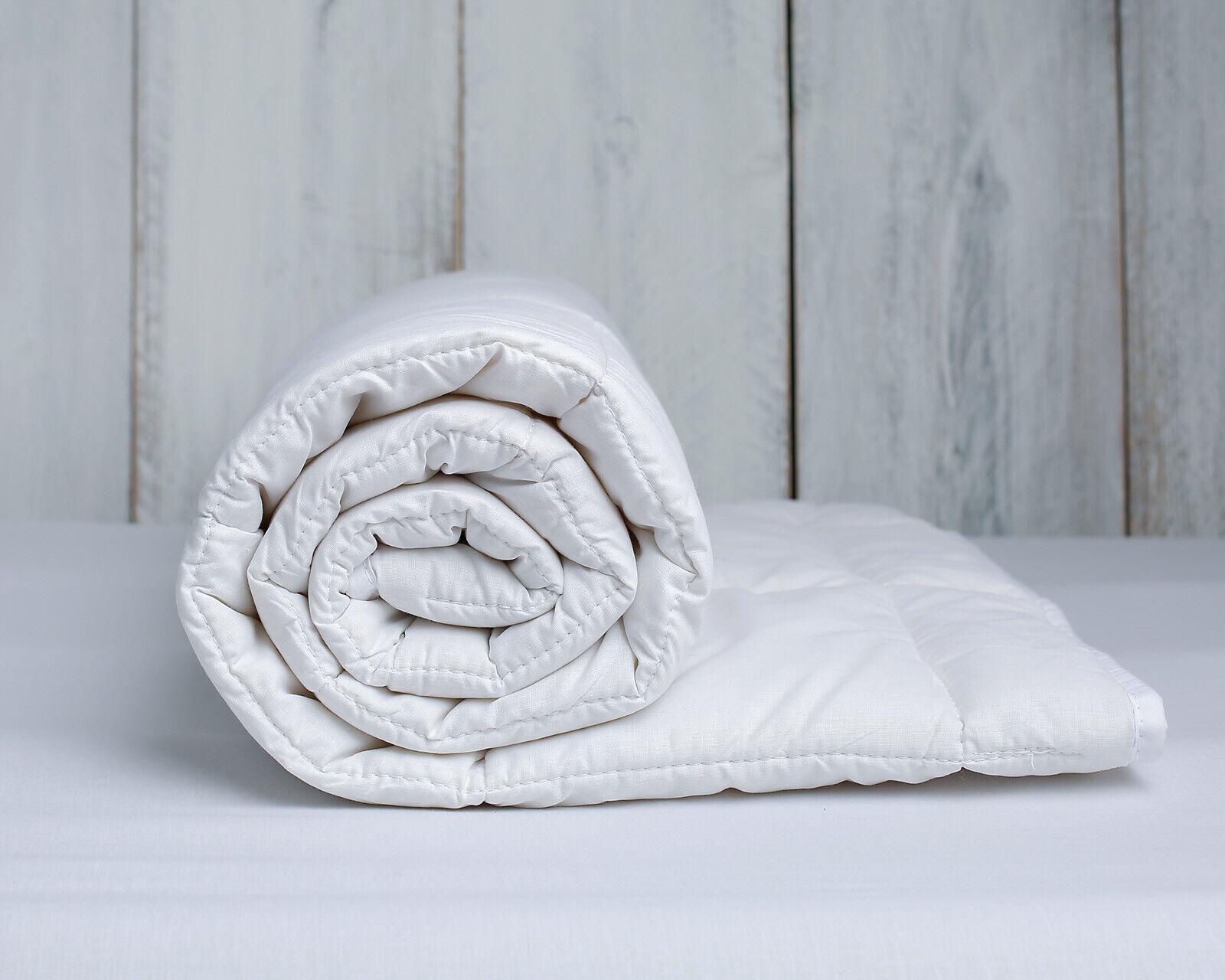 King Größe Merino Wool Duvet Quilt 225 cm x 200 cm medium weight