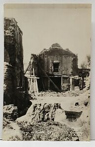 RPPC-San-Diego-de-Alcala-Mission-Restoration-c1930-Real-Photo-Postcard-G6