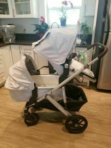 UPPAbaby 0318VISUSBRY Vista Stroller for sale online | eBay