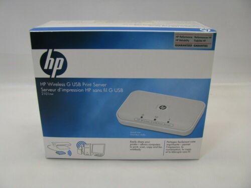 HP Q6301A 2101nw Wireless G USB Print Server