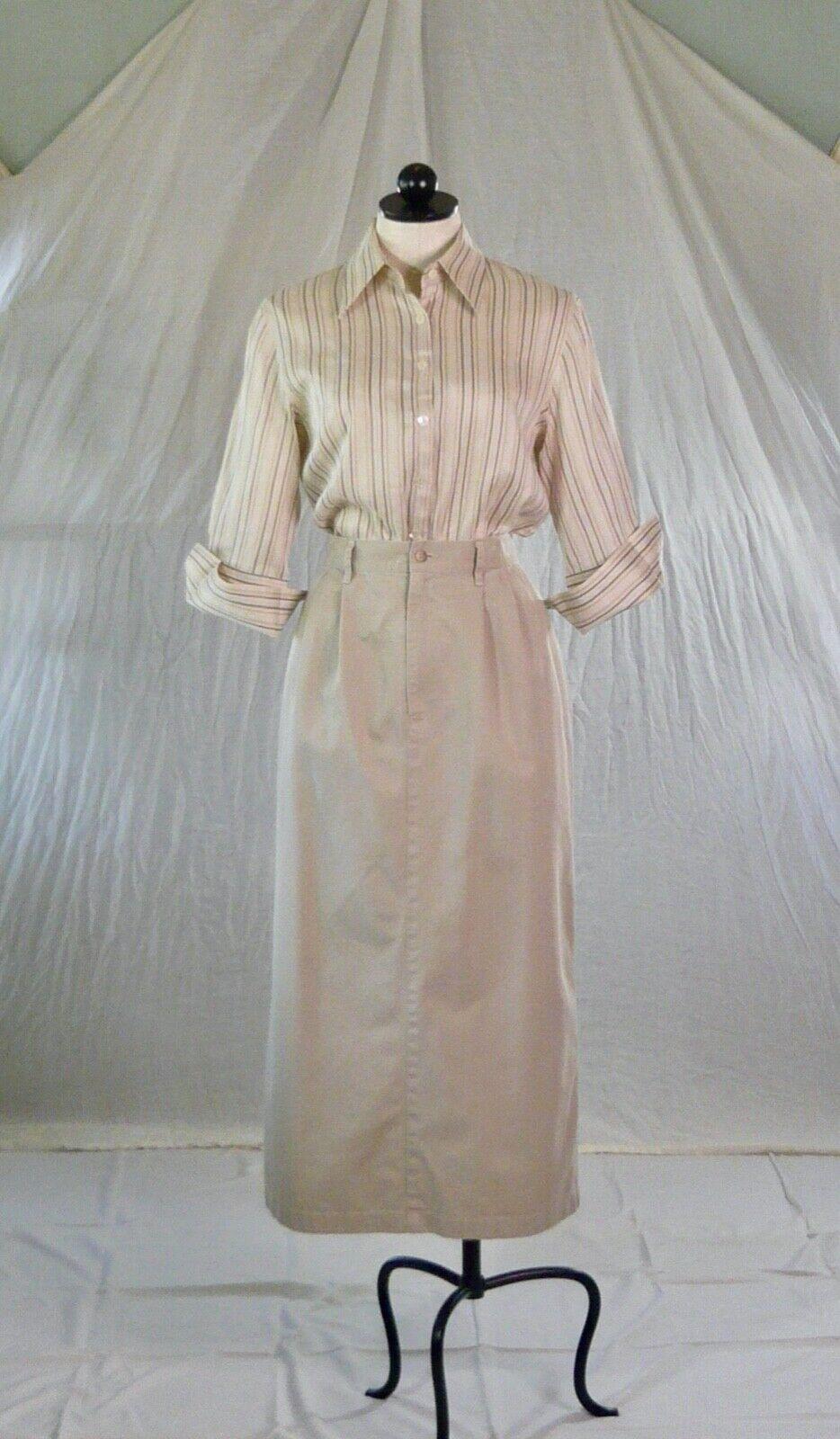 RALPH LAUREN vintage 70s 80s cotton khaki TROUSER… - image 7