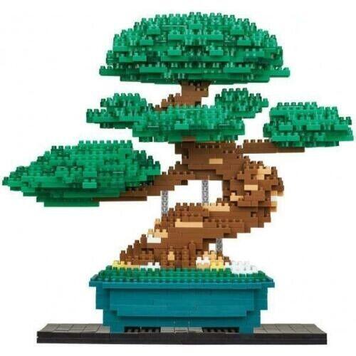 New Kawada nanoblock Bonsai Pine Deluxe Edition NB-039 F/S from Japan