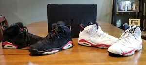cheap for discount d7f83 5d9fd Image is loading Nike-Air-Jordan-6-Retro-Infrared-Pack-Sz-
