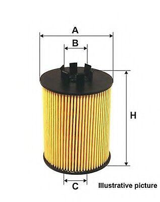 VAUXHALL ASTRA J 1.7D Filtro Carburante 2009 sulla qualità BOSCH 5818085 13263262 NUOVO