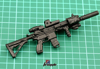 "Échelle 1//6 MG62 machine gun for 12/"" Action Figure fusil modèle arme soldat SWAT"
