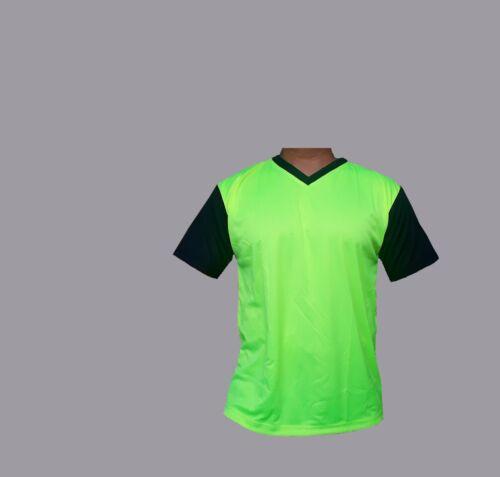 T-Shirt Football Sport da Palestra Corsa Hi Viz T-shirt girocollo QUICK DRY T-Shirt Cool Flo