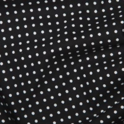 Purple 3mm Spotty Polka Dot 100/% Cotton Poplin Fabric Sewing Quilting 130gsm