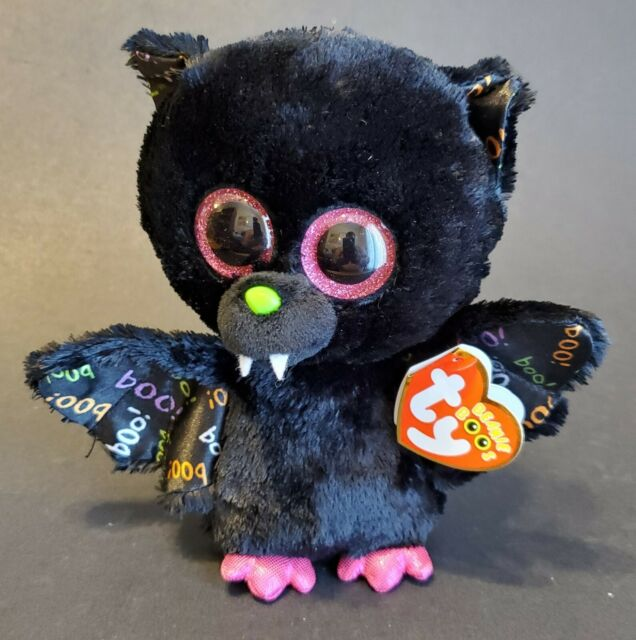 "Ty Beanie Boo - Dart the Bat 6"" Plushie Halloween Exclusive"
