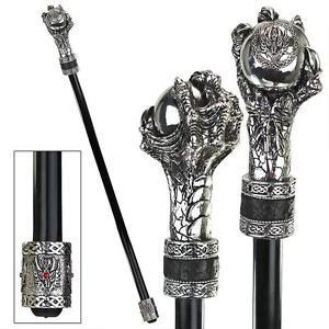 Talon Of Dunsmere Knob Handle Gothic Dragon Claw Gentleman