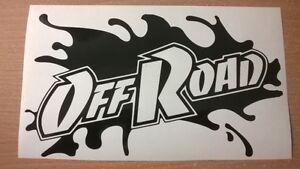 LARGE-bonnet-side-sticker-off-road-mud-splat-vinyl-decal-graphic-4x4-jeep-truck