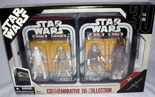 Star Wars - EMPIRE STRIKES 4 FIGURES & COLLECTORS TIN