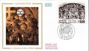 2553-FDC-ENVELOPPE-1er-JOUR-CEF-LIGIER-RICHIER-LE-SEPULCRE-DE-SAINT-MIHIEL