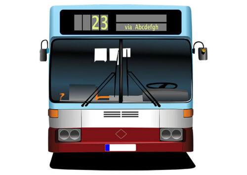 Buses Iron On Transfers A4 A5 A6