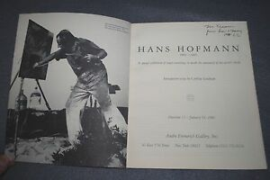 HANS-HOFMANN-1981-ANDRE-EMMERICH-GALLERY-CATALOUGE