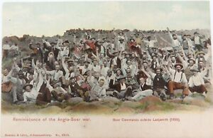 EARLY-1900s-SOUTH-AFRICA-BOER-WAR-REMINISCENCE-OF-THE-ANGLO-BOER-WAR-034-POSTCARD