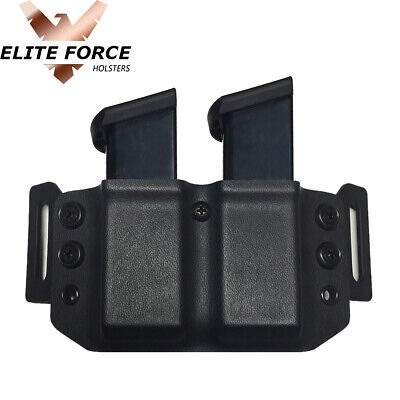 Black Kydex SIG P226 P228 P229 Single Magazine Carrier