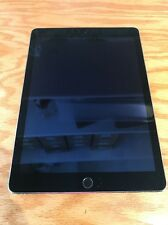 Apple iPad Air 2 128GB, Wi-Fi + Cellular A1567, 9.7in - Space Gray - As Is