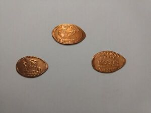 Three-Keene-State-College-Elongated-pennies-All-copper-coins