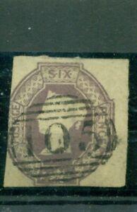 Regno Unito, Regina Vittoria nr 5 C timbrato quattro rettangolare tagliata