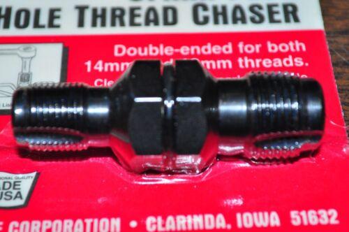"Spark Plug Hole Thread Chaser M14 and M18 use with 13//16/""Socket Lisle 20200"