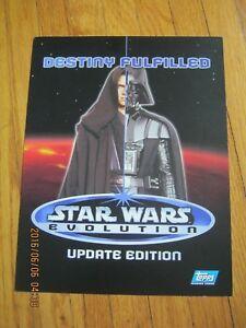 Promo-Booklet-Star-Wars-Evolution-Update-Topps-2006-Darth-Vader-ZPB