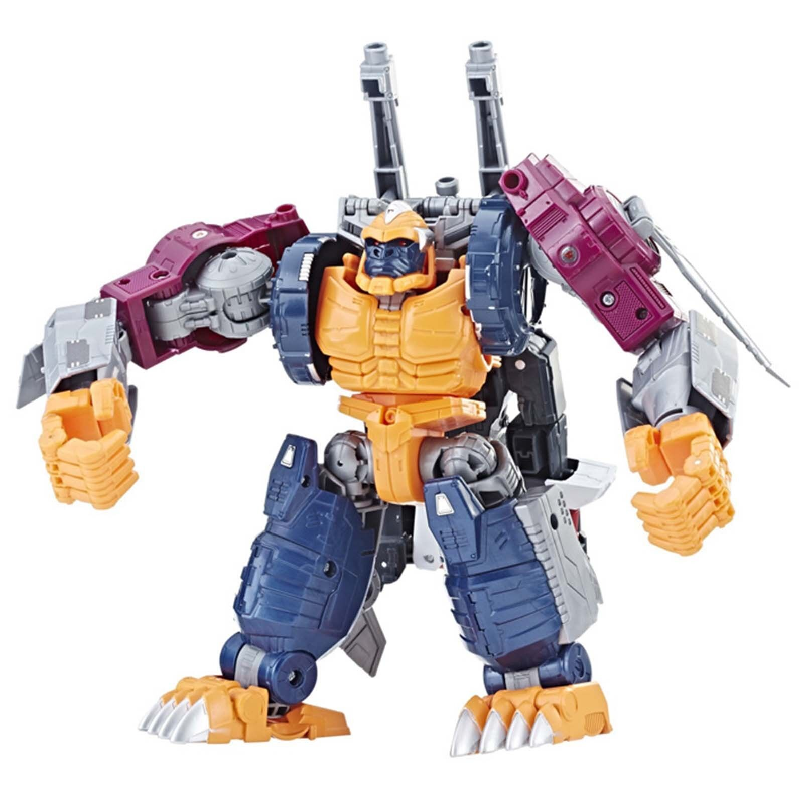 New Transformers Power of the Primes POTP Leader Evolution Optimal Optimus Robot