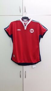 best service 0a9d9 31b00 Details about Norway National Football Team Home Womens Football Jersey,  BNWT, Size: 44