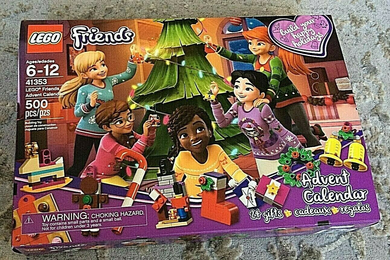 LEGO Friends 2018 Advent Calendar Calendar Calendar 67581a
