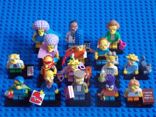 LEGO - COMPLETE SET OF SIMPSONS SERIES 2