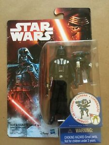 Star Wars 3.75/'/' DARTH VADER 2013 THE EMPIRE STRIKES BACK hasbro figure Toy