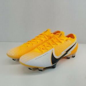 Nike Vapor 13 Elite FG football crampons Laser Orange Noir AQ4176-801 Homme SZ 8