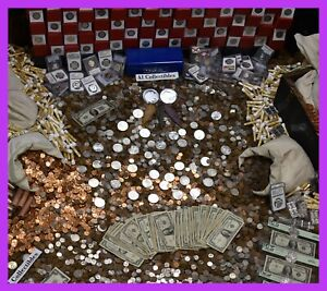 MASSIVE-ESTATE-SALE-GOLD-999-SILVER-BULLION-RARE-OLD-COINS-MONEY-MIXED-LOT
